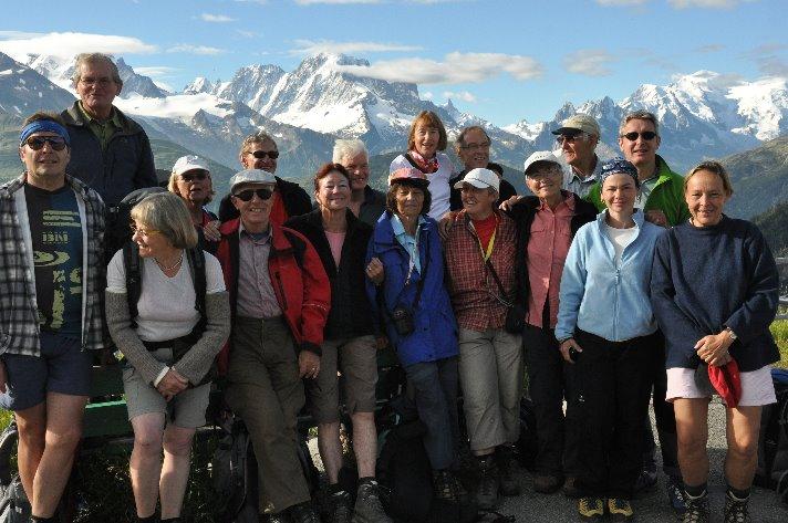 bei Lac'Emosson vor Mont Blanc