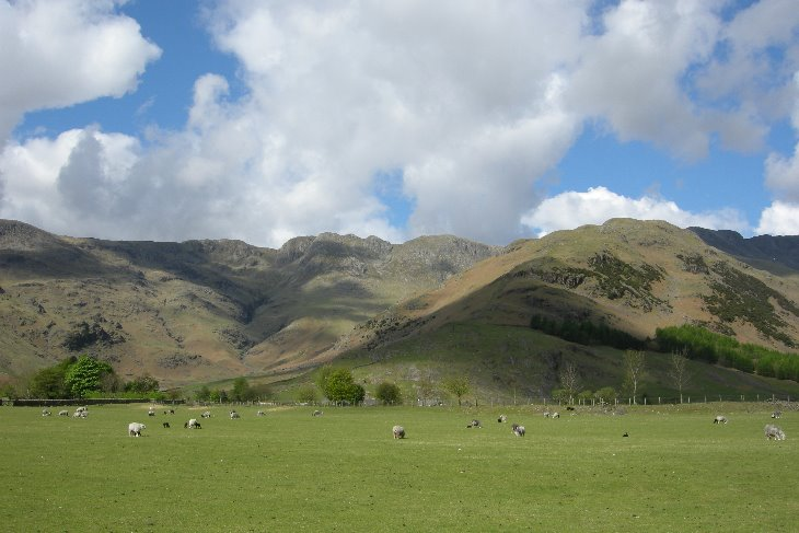 Crinkle Crags from Great Langdale