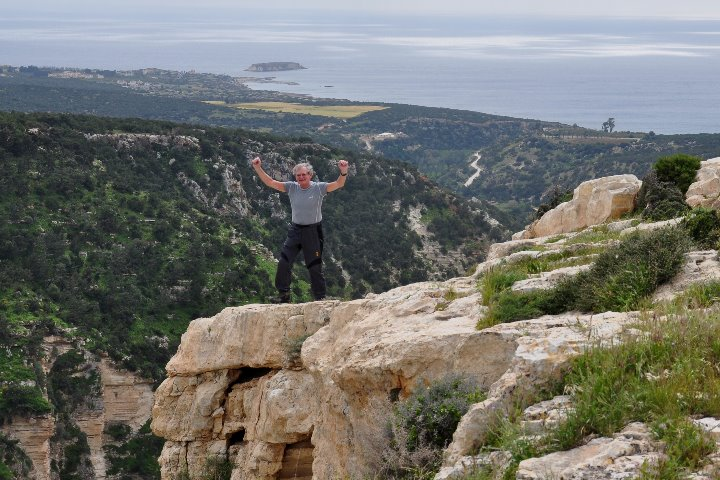 above the Avakas gorge