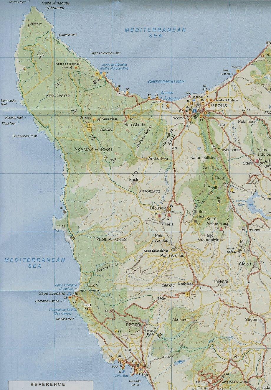 Avakas and Akamas area