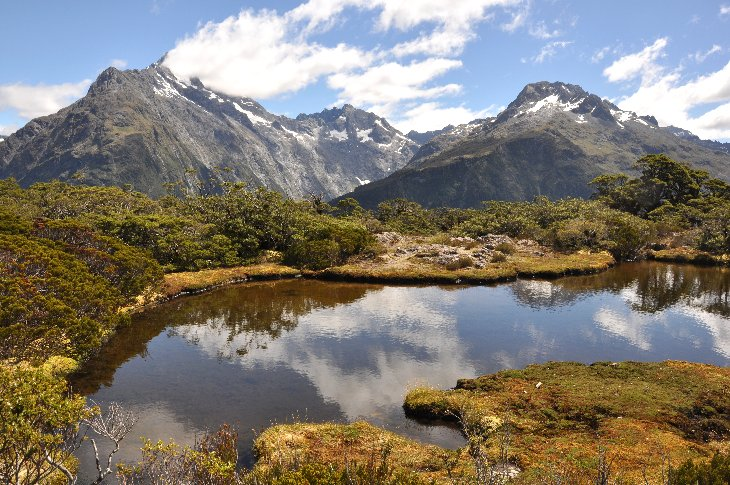 Hiking on Scenic Routeburn Track