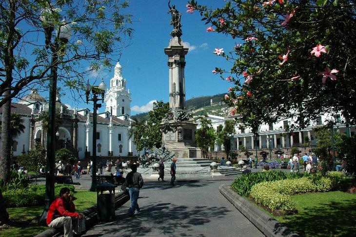 Quito, Plaza Grande