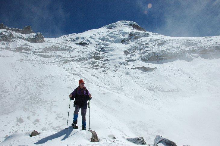 My highest point 5200m