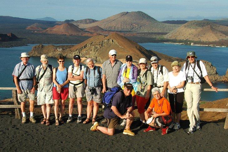 Galapagos visitors