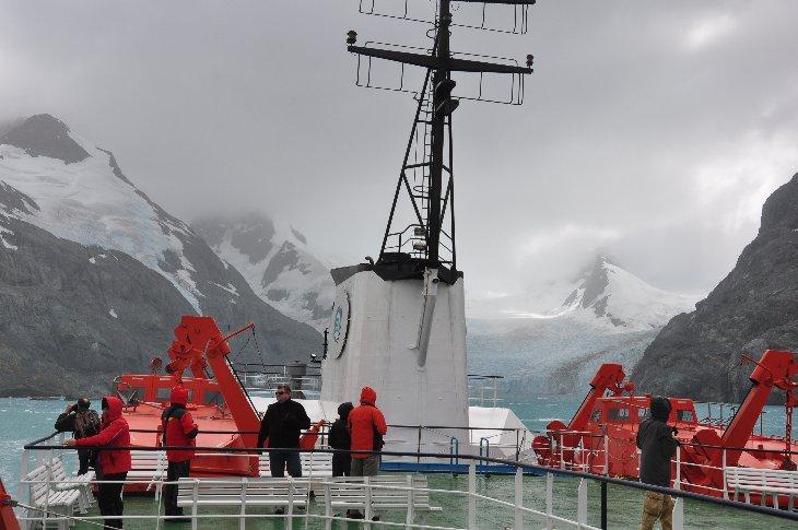 Ortelius in Drygalski Fjord