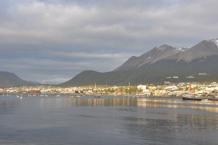 arrival in Ushuaia