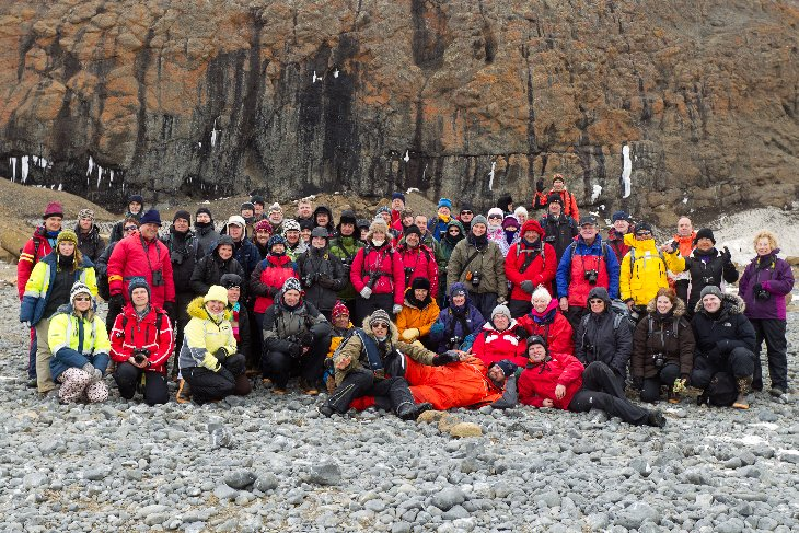 Ortelius Team, passengers and guides