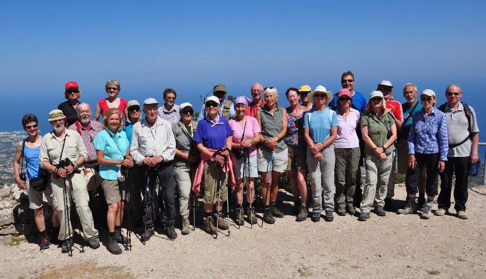 Die Teilnehmer auf Buffavento