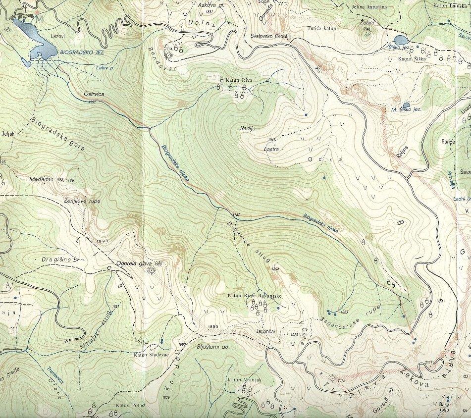 Biogradska Gora, Bjelasica Gebirge