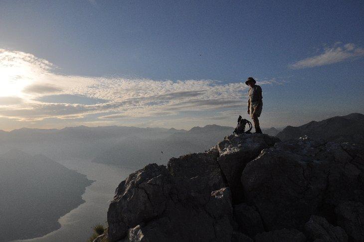 on Pestingrad above Kotor