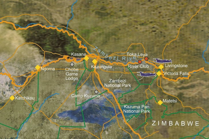 Victoria Falls Region