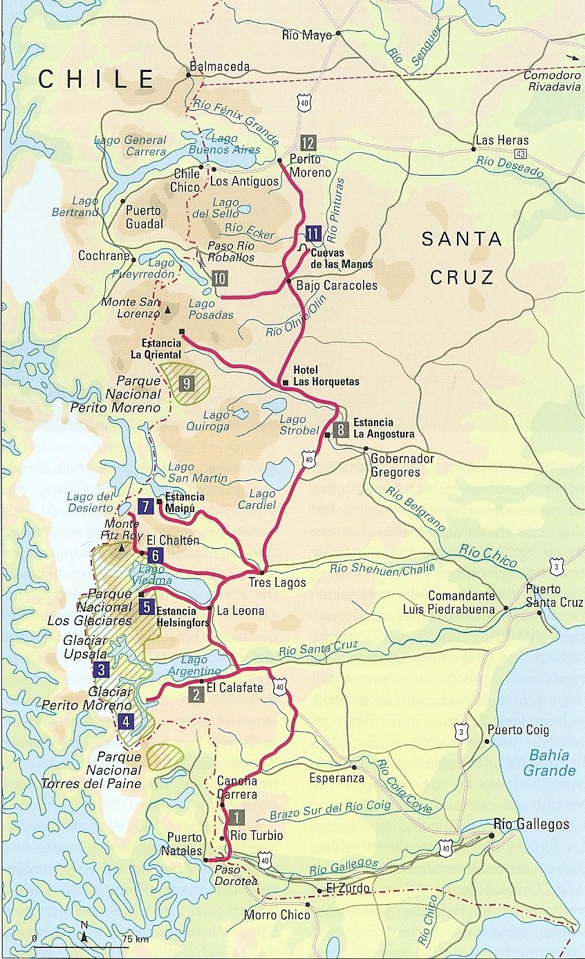 Cueva de las Manos - Puerto Natales