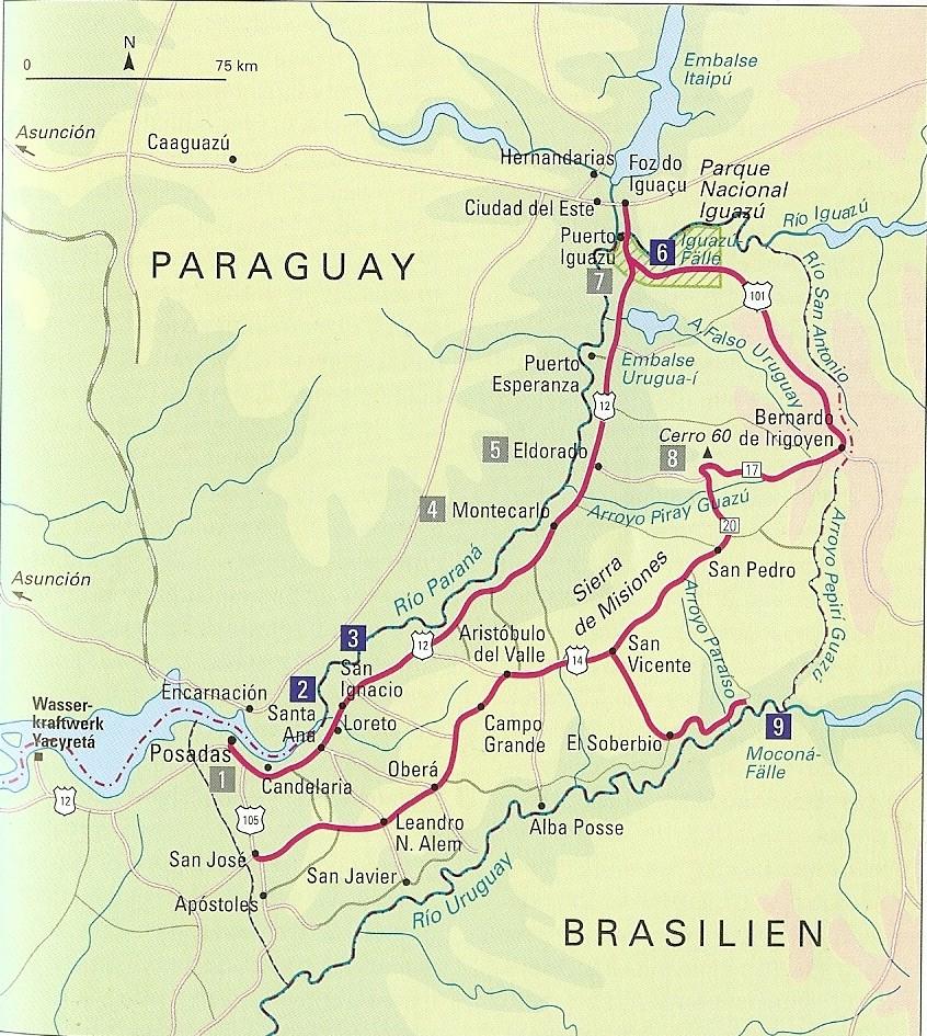 Missiones, Northeastern Argentina