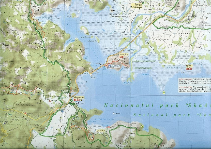 Nördliche Skadar See