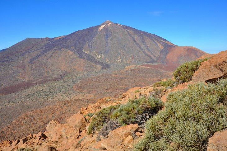 Pico del Teide Teneriffa 3718m, the highest mountain in Spain