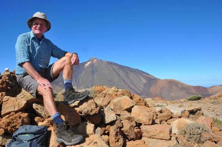 Auf den Gipfel von Guajara 2716m
