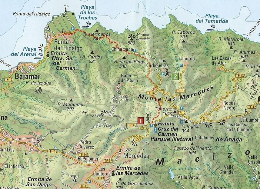 Westliche Anaga Gebirge