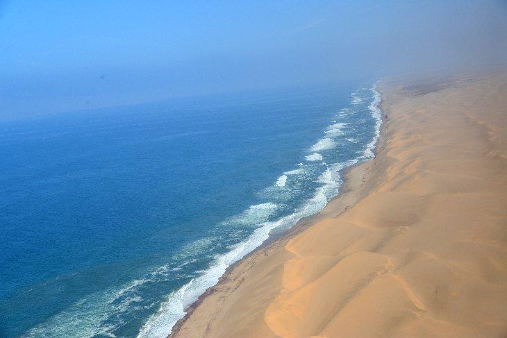 Namib desert coastline