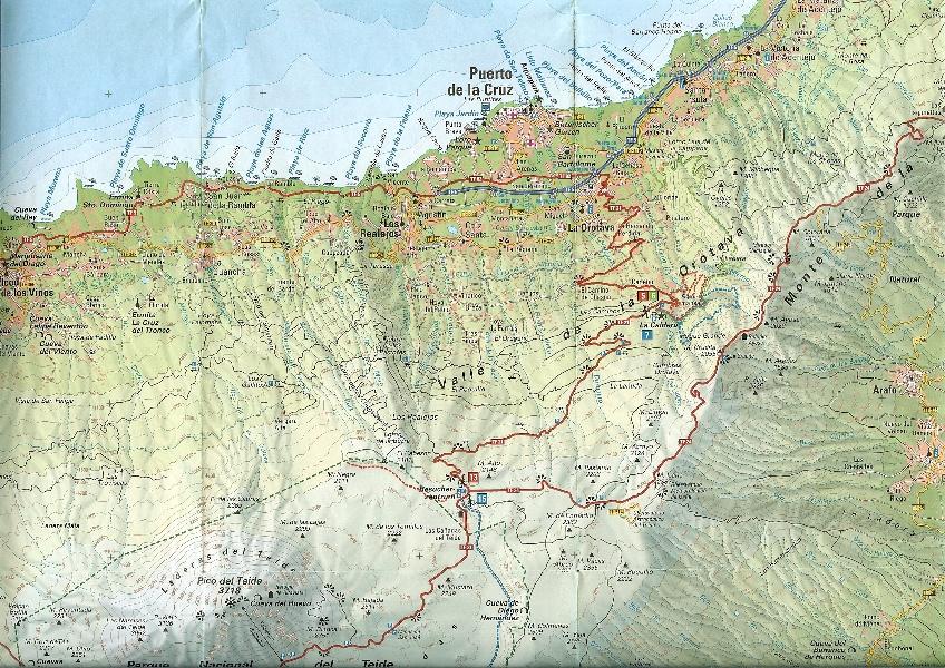 Puerto de la Cruz Region