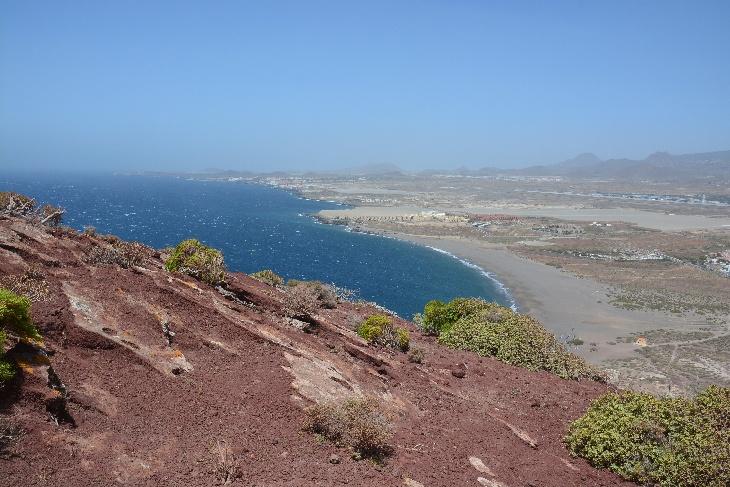 Tejita Strand von Monte Roja