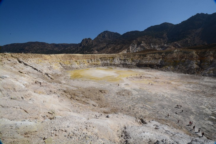 Stefanos-Krater, Nissyros