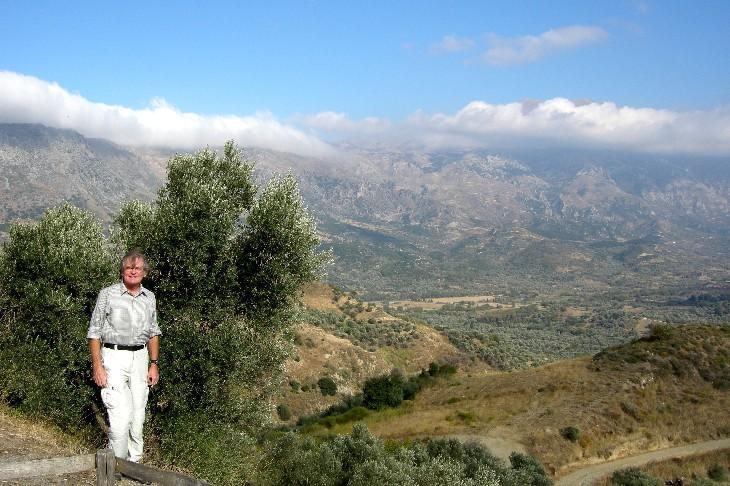 Psiloritis 2456m, der höchste Berg Kretas