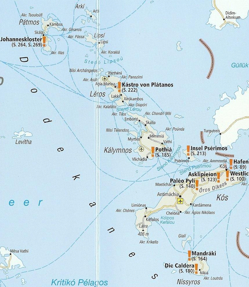 Die Nördlichen Dodekanes Inseln