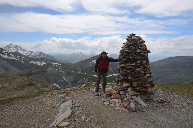 on the Col de la Croix de Bonhomme