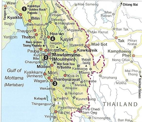 Kayin and Mon States
